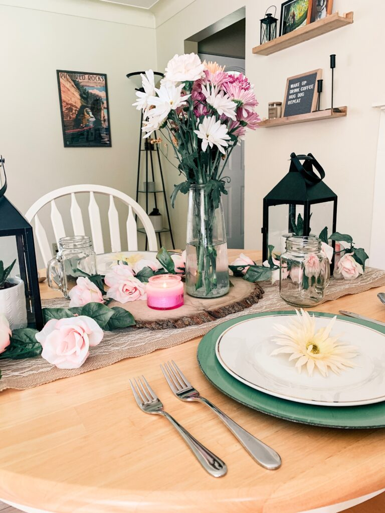 Pretty Spring Tablescape