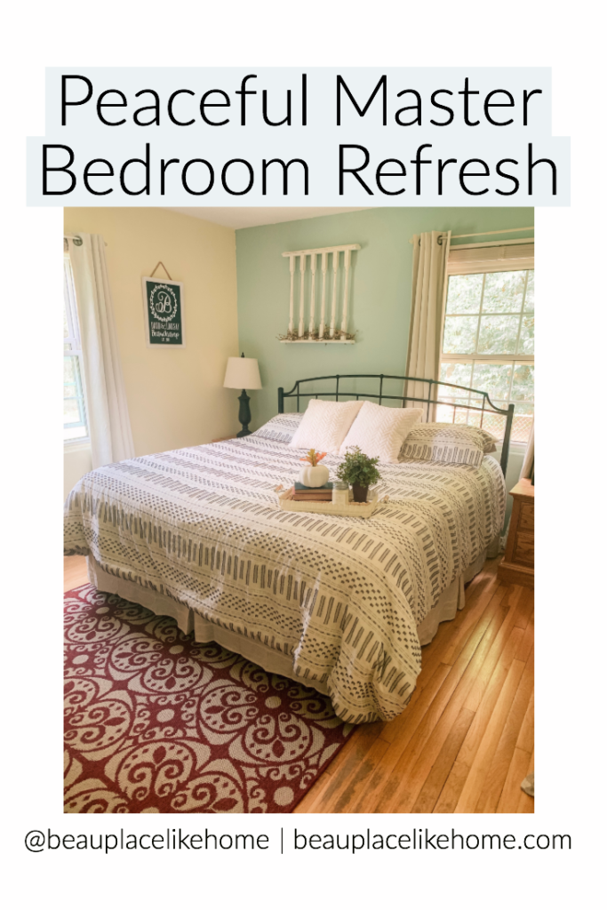 Peaceful Master Bedroom Refresh