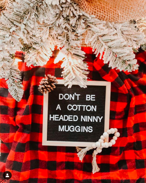 Christmas letter board quote
