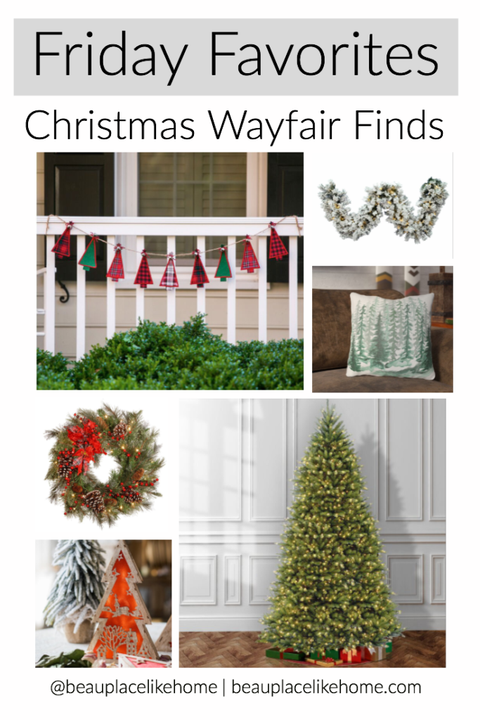Friday Favorites - Christmas Wayfair Finds