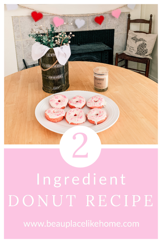 Two-Ingredient Valentine's Day Donuts