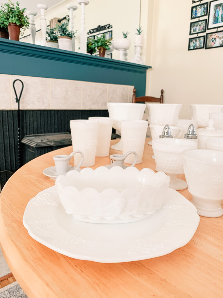 Beau Place Like Home - Milk Glass Collection