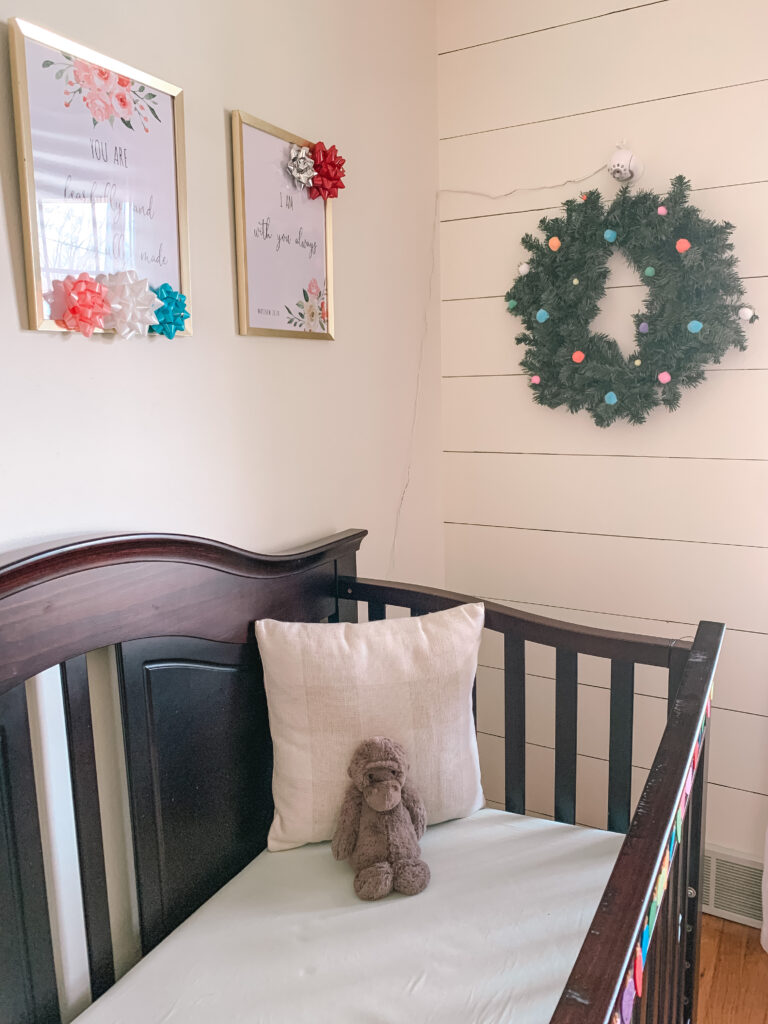 Colorful Christmas Nursery